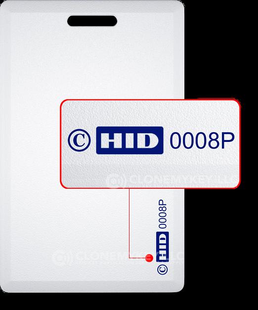 HID008P PROXY CARD