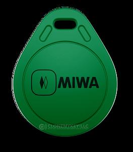 Miwa Green Key Fob (RFID)