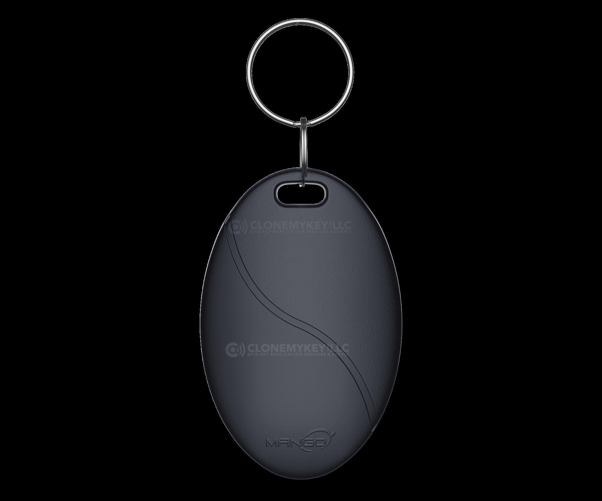 Black Key Fob Front (RFID)