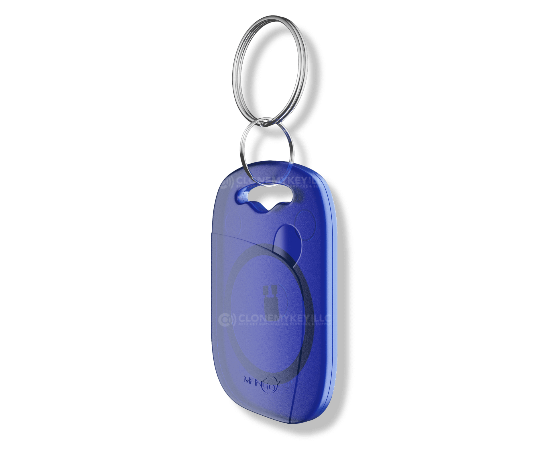 Blue Key Fob Side (RFID)