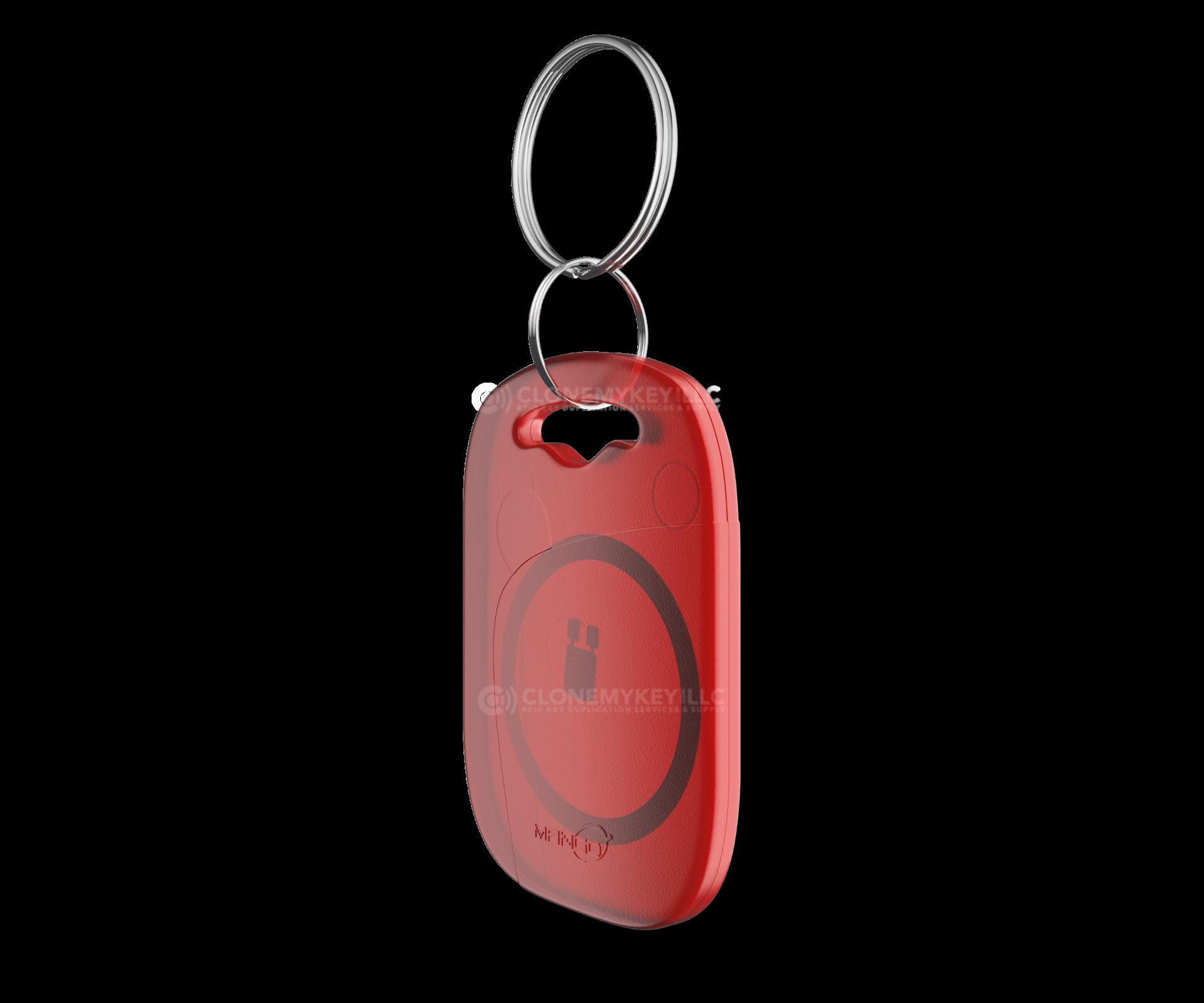 Red Key Fob Side (RFID)