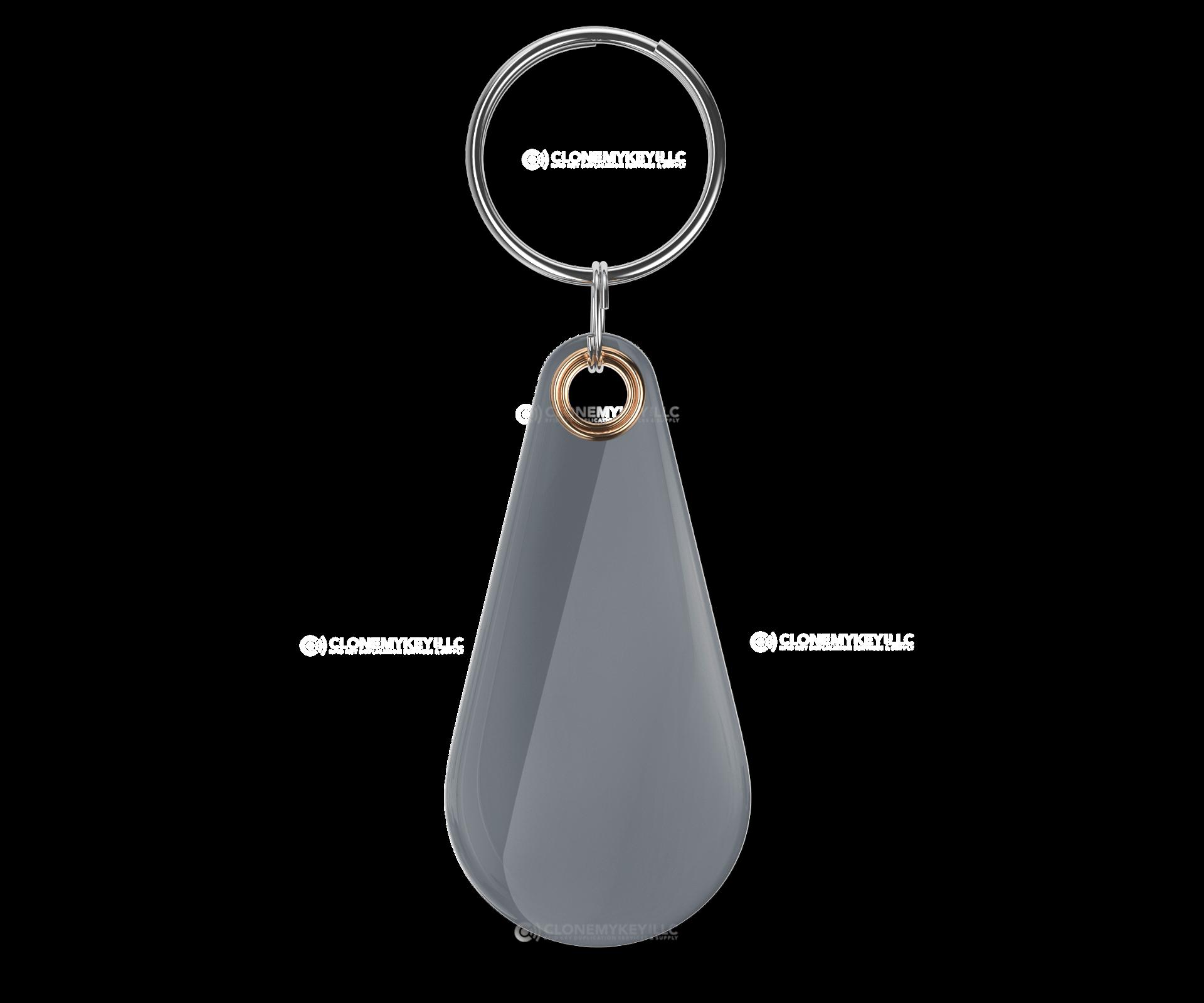 RFID Epoxy Thin Grey Key Fob Blank