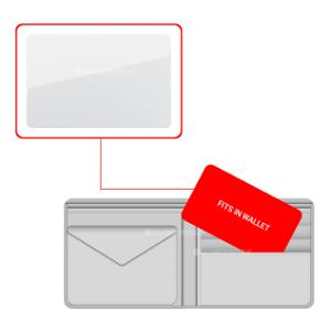 RFID Key Card Slim Small