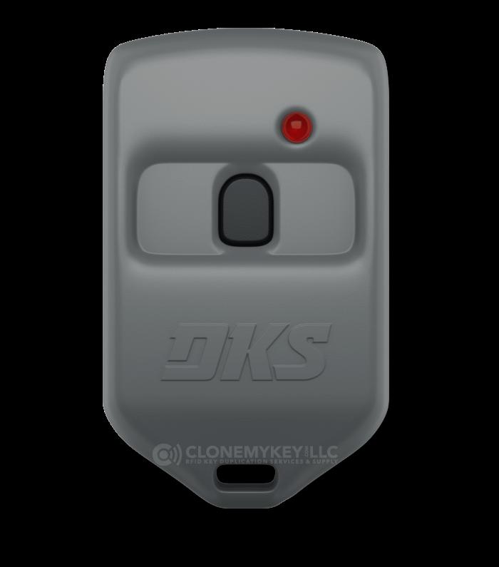 DKS microclik remote single button grey